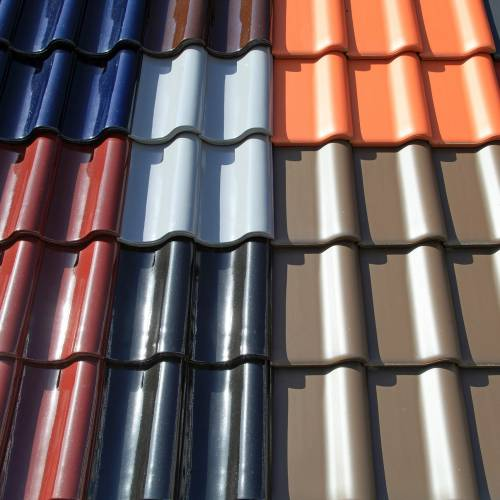 selection of coloured tiles